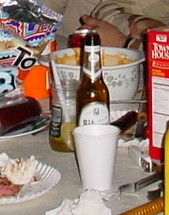 "Junk food and ""no-beer"""