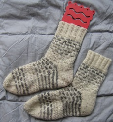Socks from Ruths Hanspun