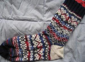Feb Pattern - Time to knit Socks
