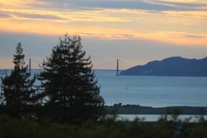 Golden Gate near days end