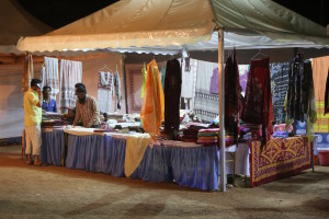 textile booth