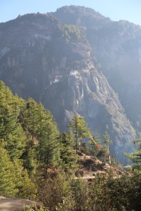 Tiger's Nest from the first rest stop