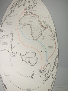 The sea route options