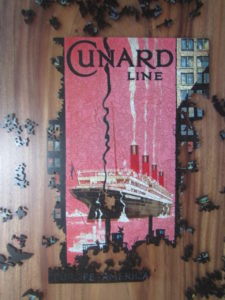 old Cunard Travel poster
