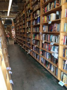 of floor to practically ceiling books