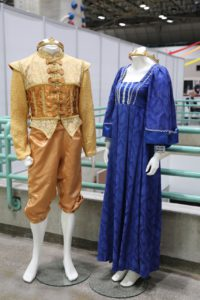 More displayed costumes