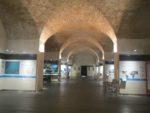 Inside the exhibit hall