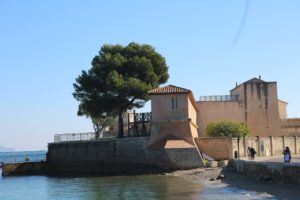 the more modern military fort